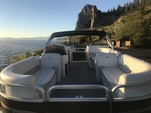"""21 ft. Avalon Pontoons 20' GS Quad Lounge 23"""" Tubes Pontoon Boat Rental Rest of Southwest Image 3"""