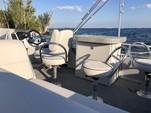 24 ft. Qwest Pontoons 820 Cruise Deluxe Pontoon Boat Rental Palm Bay Image 1