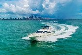65 ft. Azimut Yachts 62 Flybridge Boat Rental Miami Image 3