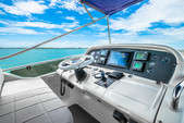 65 ft. Azimut Yachts 62 Flybridge Boat Rental Miami Image 9