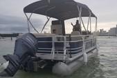 22 ft. Sun Tracker by Tracker Marine Party Barge 22 DLX w/115ELPT Pro XS Pontoon Boat Rental Miami Image 4
