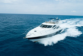 64 ft. sunseeker Manhattan Motor Yacht Boat Rental Miami Image 3