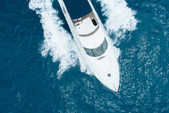 64 ft. sunseeker Manhattan Motor Yacht Boat Rental Miami Image 4
