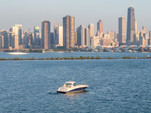 45 ft. Sea Ray Boats 450 Sundancer Axius Cruiser Boat Rental Chicago Image 1