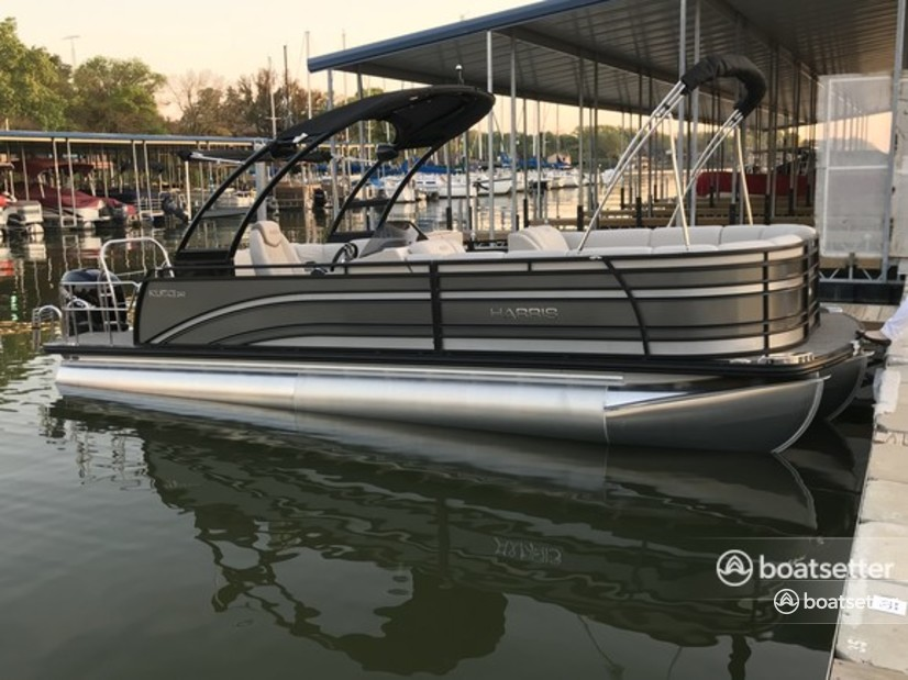 Rent a Harris FloteBote pontoon in Fort Worth, TX near me