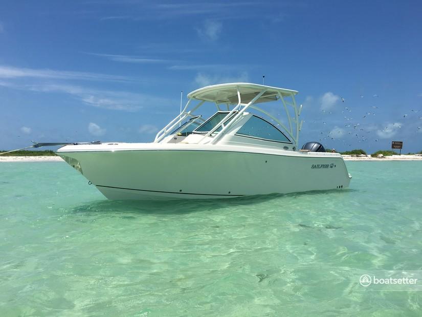 Rent a Sailfish Boats by Seminole dual console in Sarasota, FL near me