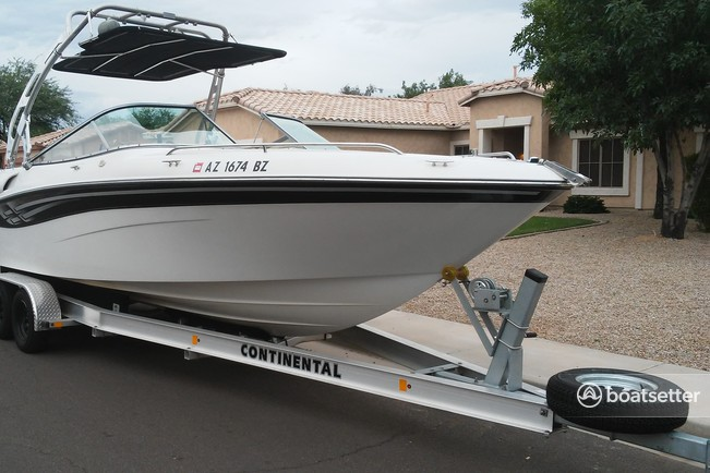 Rent a 2001 26 ft  Four Winns Boats 260 Horizon in Phoenix, AZ on Boatsetter