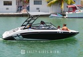 19 ft. Yamaha AR190  Bow Rider Boat Rental Miami Image 4