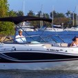 24 ft. Hurricane Boats SD 2400 w/F250XCA Cruiser Boat Rental Miami Image 1