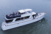 80 ft. Chris Craft Roamer Motor Yacht Boat Rental New York Image 1