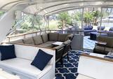 80 ft. Chris Craft Roamer Motor Yacht Boat Rental New York Image 13