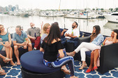 80 ft. Chris Craft Roamer Motor Yacht Boat Rental New York Image 5