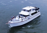 80 ft. Chris Craft Roamer Motor Yacht Boat Rental New York Image 16