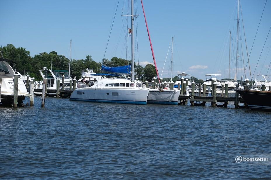 Rent a Lagoon  catamaran in Edgewater, MD near me