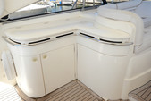 55 ft. Viking Princess Yacht 54 Convertible Cruiser Boat Rental Miami Image 9