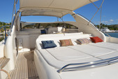 55 ft. Viking Princess Yacht 54 Convertible Cruiser Boat Rental Miami Image 10