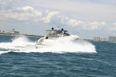 55 ft. Viking Princess Yacht 54 Convertible Cruiser Boat Rental Miami Image 2
