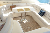55 ft. Viking Princess Yacht 54 Convertible Cruiser Boat Rental Miami Image 7
