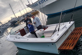 22 ft. Skipjack Boats 24 Open Cruiser Fish And Ski Boat Rental San Diego Image 2