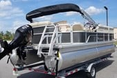 20 ft. Misty Harbor 225CR Adventure Pontoon Boat Rental Miami Image 3