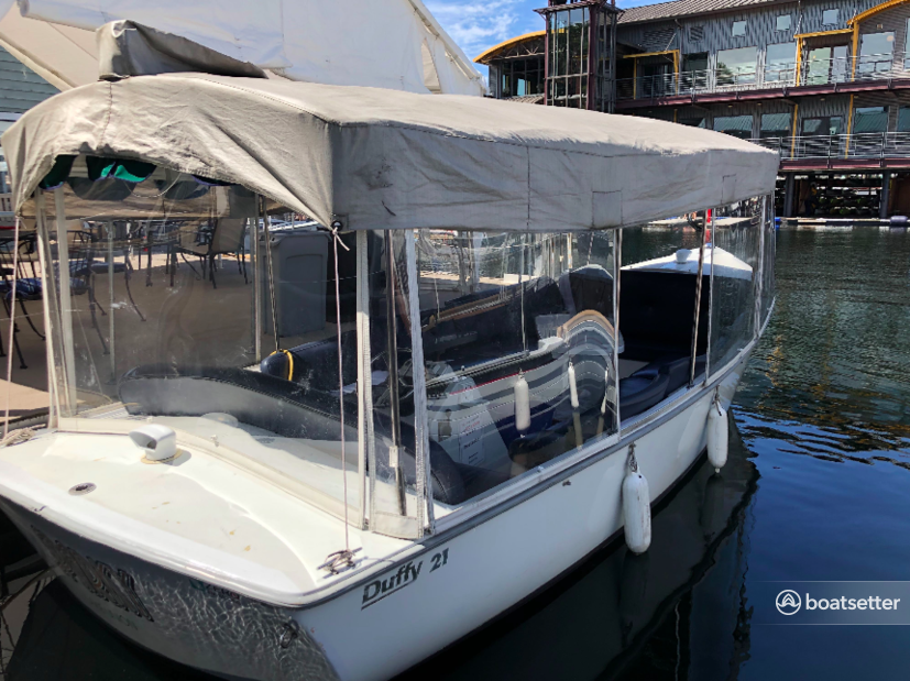 Rent a Duffy Electric Boats electric in Seattle, WA near me