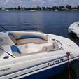 19 ft. Hurricane Boats SunDeck 188 Deck Boat Boat Rental Miami Image 2