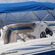 19 ft. Hurricane Boats SunDeck 188 Deck Boat Boat Rental Miami Image 3