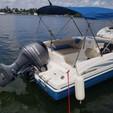 19 ft. Hurricane Boats SunDeck 188 Deck Boat Boat Rental Miami Image 4