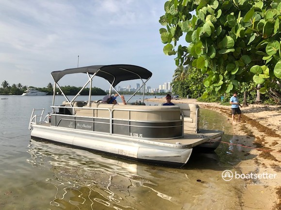 Rent a Misty Harbor pontoon in North Miami Beach, FL near me