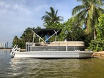 20 ft. Misty Harbor 225CR Adventure Pontoon Boat Rental Miami Image 1