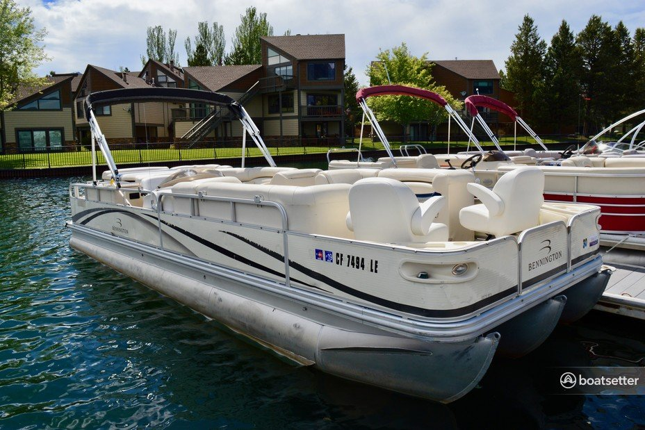 Rent a Crest Pontoons cruiser in South Lake Tahoe, CA near me
