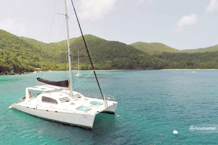 Rent a Robertson and Caine catamaran in St. Thomas, US Virgin Islands near me