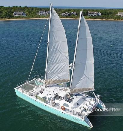 Rent a Chris White catamaran in Newport, RI near me