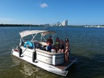 20 ft. Crest Pontoons 190 Crest II Pontoon Boat Rental Miami Image 13