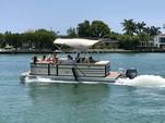 20 ft. Crest Pontoons 190 Crest II Pontoon Boat Rental Miami Image 27