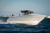 33 ft. Century Boats 3200 CC w/2-F350XCA Center Console Boat Rental Miami Image 1