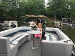 24 ft. Harris FloteBote 240A Pontoon Boat Rental Charlotte Image 17