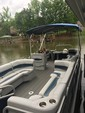 24 ft. Harris FloteBote 240A Pontoon Boat Rental Charlotte Image 4