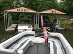 24 ft. Harris FloteBote 240A Pontoon Boat Rental Charlotte Image 20