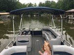 24 ft. Harris FloteBote 240A Pontoon Boat Rental Charlotte Image 3
