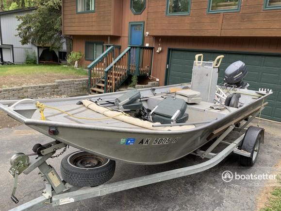 Rent a Aluma-Weld Inc. aluminum fishing in Anchorage, AK near me