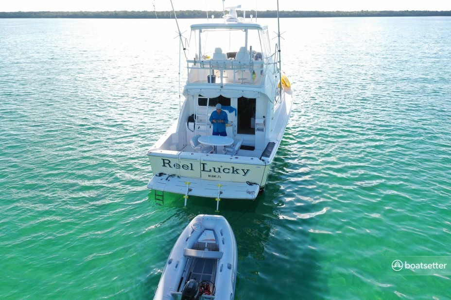 Rent a Riviera Yachts convertible in Miami, FL near me