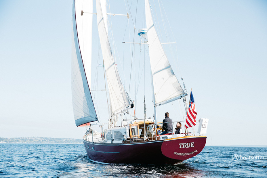 Rent a Pearson sloop in Bainbridge Island, WA near me