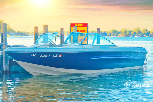 Rent a Sea Sprite by United Marine bow rider in Grand Blanc, MI near me