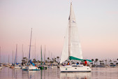 30 ft. Hunter 336 Sloop Boat Rental San Diego Image 2