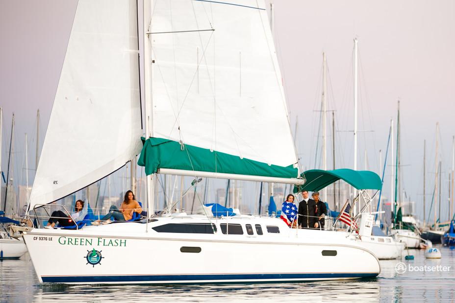 Rent a Hunter sloop in San Diego, CA near me