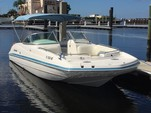 24 ft. Hurricane Gulfstream 24 Deck Boat Boat Rental Tampa Image 1