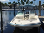 24 ft. Hurricane Gulfstream 24 Deck Boat Boat Rental Tampa Image 6