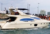 68 ft. Azimut Yachts 68 Plus Cruiser Boat Rental Miami Image 1