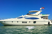 68 ft. Azimut Yachts 68 Plus Cruiser Boat Rental Miami Image 24